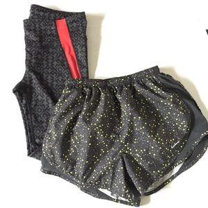 Gap Capri & Nike Running Shorts Lot Bundle